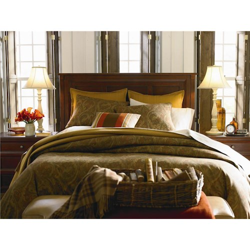 Bassett Chatham Panel Headboard Queen