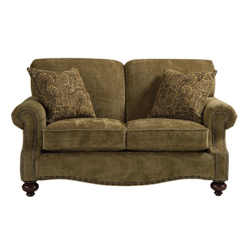Bassett Club Room Traditional Love Seat