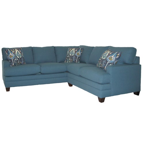 Bassett CU.2 L Shaped Upholstered Sectional Group