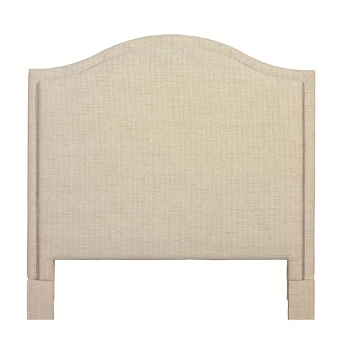 Bassett Custom Upholstered Beds Full Vienna Upholstered Headboard
