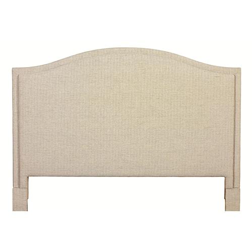 Bassett Custom Upholstered Beds King Vienna Upholstered Headboard