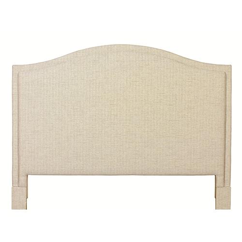 Bassett Custom Upholstered Beds California King Vienna Upholstered Headboard