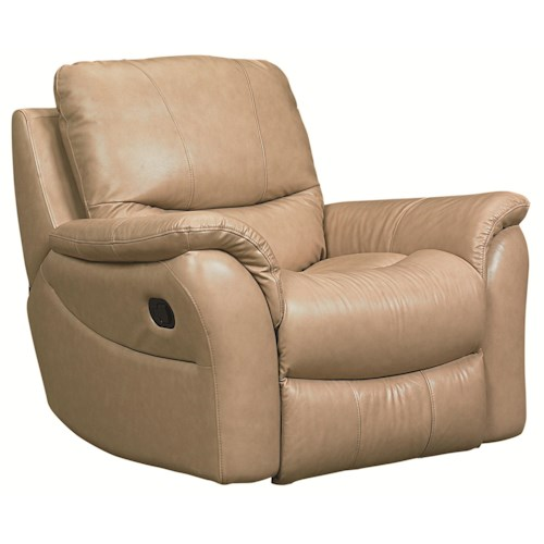 Bassett Drew  Upholstered Living Room Glider Recliner