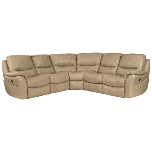 Bassett Drew  Five Seat Reclining Motion Sectional