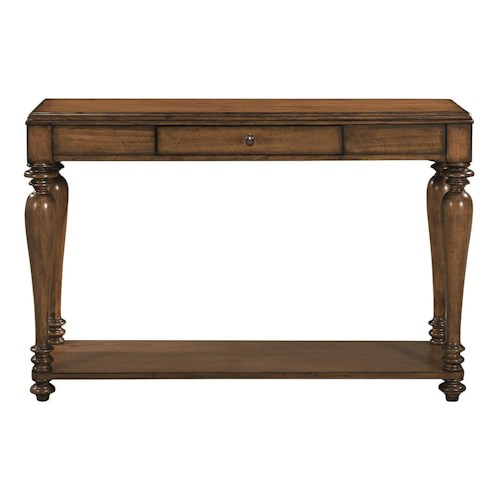 Bassett Heartland Pine Console Table