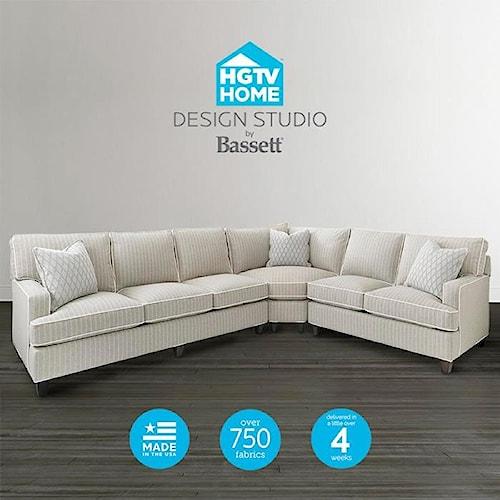 Bassett Design: Bassett HGTV Home Design Studio Customizable Curved Corner