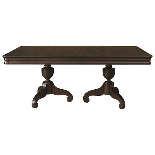 Bassett Provence Double Pedastal Table