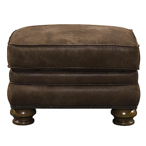 Bassett Sonoma  Upholstered Ottoman