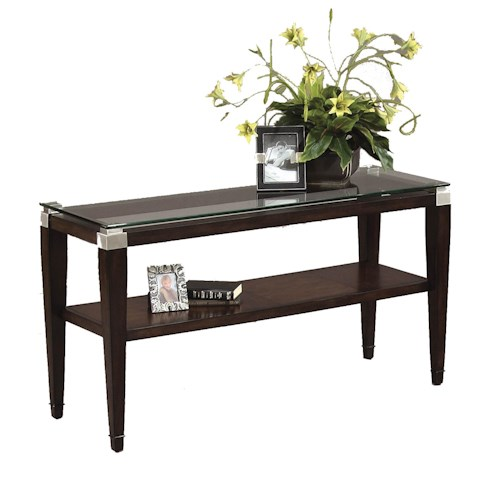 Bassett Mirror Dunhill Rectangle Console Table