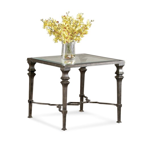 Bassett Mirror Lido Square End Table