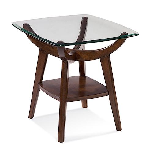 Bassett Mirror Thoroughly Modern Gillian End Table