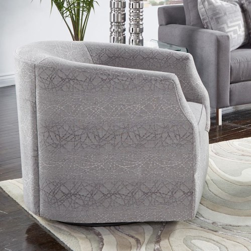 Metro Collection 455 Upholstered Swivel Chair