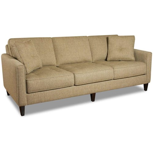 Bauhaus Kingsley Contemporary Sofa with Track Arms