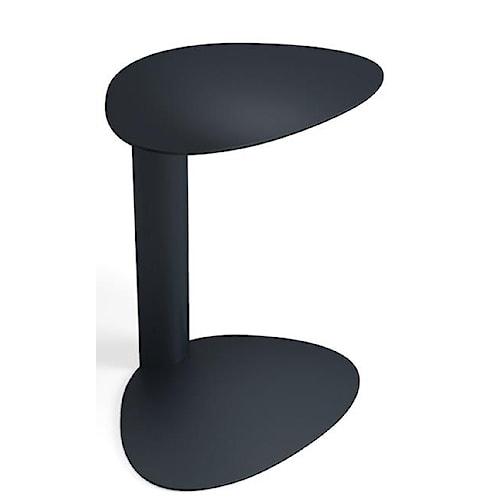 BDI Bink Sleek Indoor/Outdoor Black Mobile Media Table