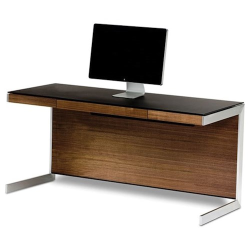BDI Sequel Desk with Removable Back Panel