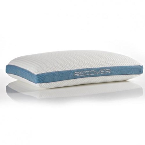 Bedgear Recover Recover Self-Leveling Fit Pillow for Stomach and Back Sleepers