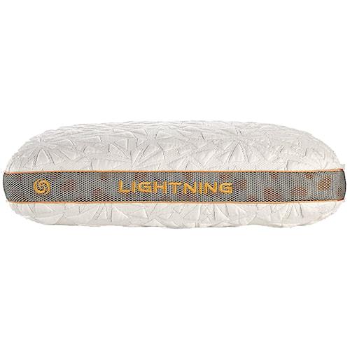 Bedgear Storm Series Pillows Lightening 2.0 Personal Performance Pillow for Back Sleepers