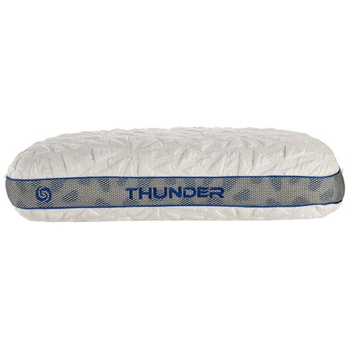 Bedgear Storm Series Pillows Thunder 1.0 Personal Performance Pillow for Stomach Sleepers
