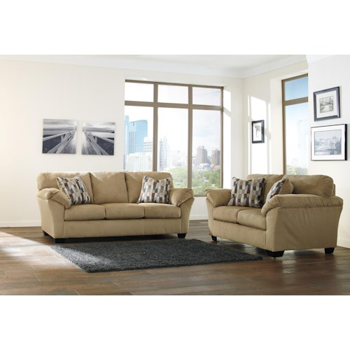 Ashley/Benchcraft Aluria Stationary Living Room Group