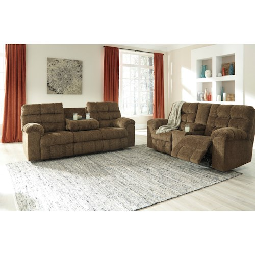 Ashley Antwan Reclining Living Room Group