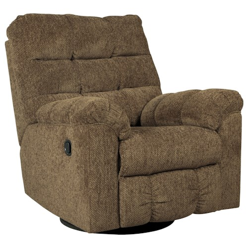 Ashley/Benchcraft Antwan Swivel Rocker Recliner