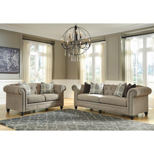 Benchcraft Azlyn Stationary Living Room Group