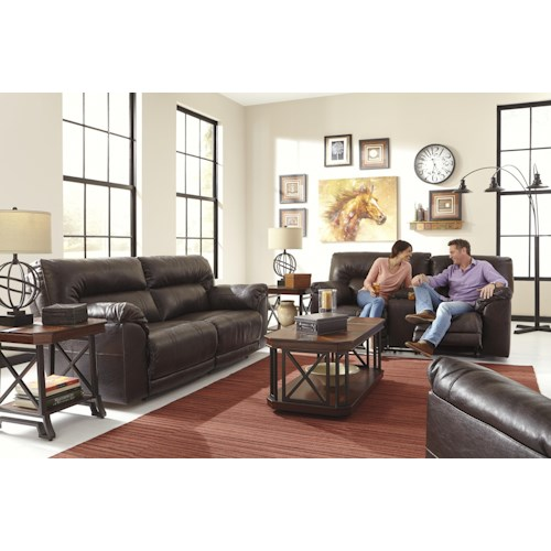 Ashley Barrettsville DuraBlend® Reclining Living Room Group