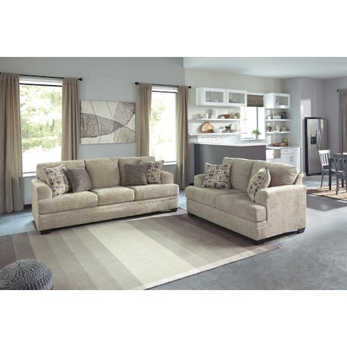Benchcraft Barrish Stationary Living Room Group