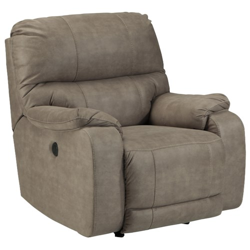 Benchcraft Bohannon Contemporary Power Rocker Recliner