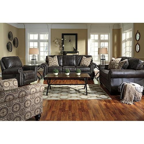 Ashley/Benchcraft Breville Stationary Living Room Group