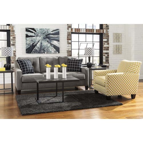 Ashley/Benchcraft Brindon Stationary Living Room Group