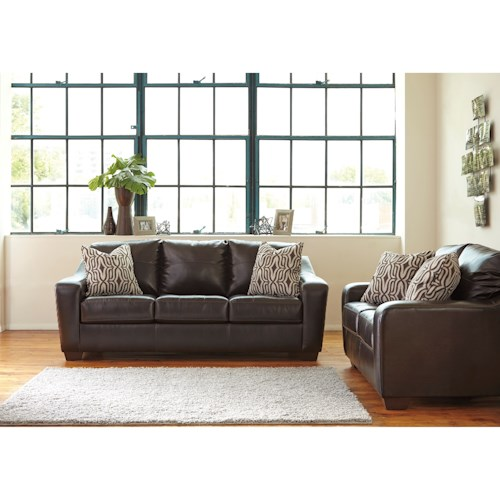 Benchcraft Coppell DuraBlend® Stationary Living Room Group