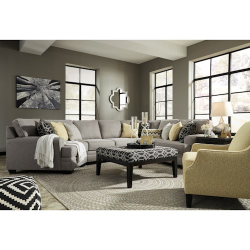 Ashley/Benchcraft Cresson Stationary Living Room Group