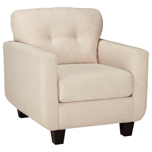 Benchcraft Drasco Contemporary Chair with Tufted Back