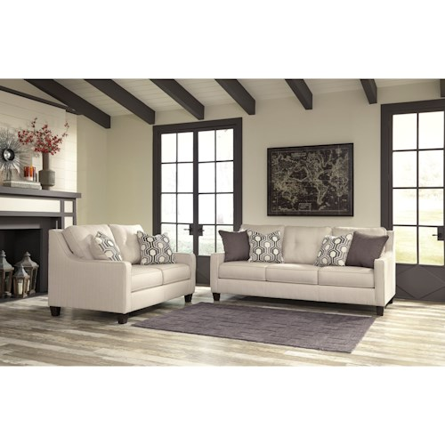 Ashley/Benchcraft Guillerno Stationary Living Room Group