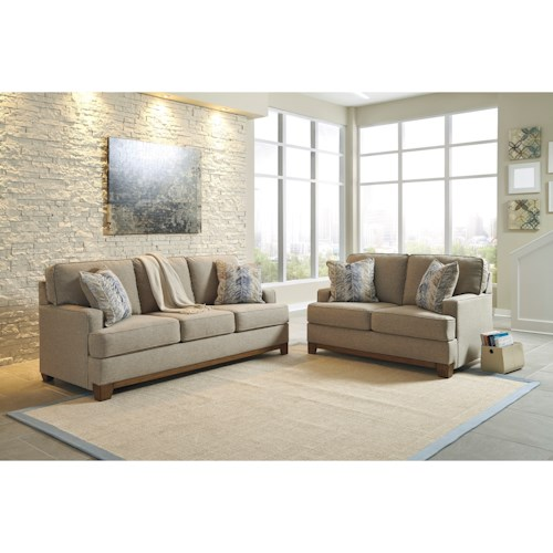 Benchcraft Hillsway Stationary Living Room Group