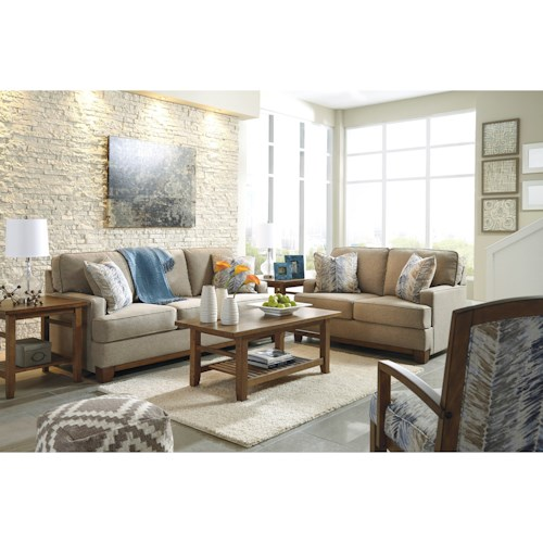Ashley Hillsway Stationary Living Room Group