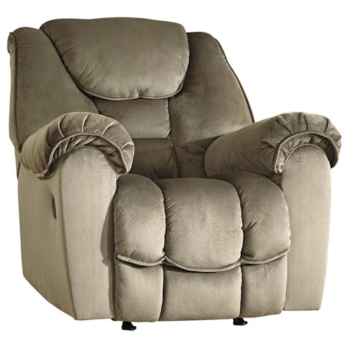 Benchcraft Jodoca Casual Contemporary Rocker Recliner