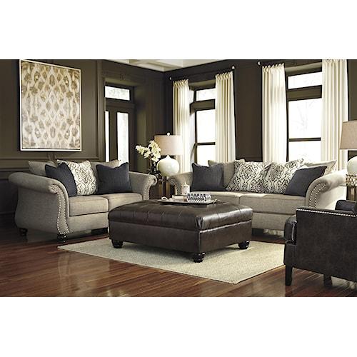 Ashley Jonette Stationary Living Room Group