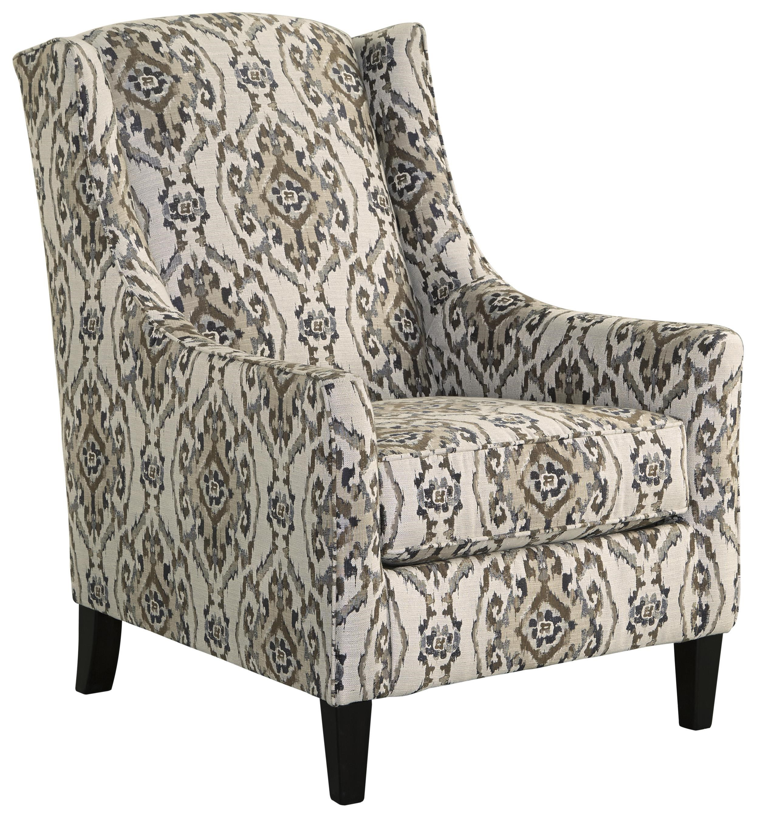 Benchcraft Jonette Transitional Wing Back Accent Chair