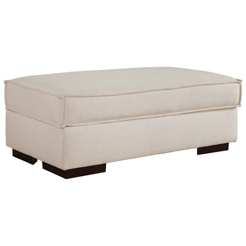 Ashley/Benchcraft Kendleton Modern Rectangular Ottoman With Storage
