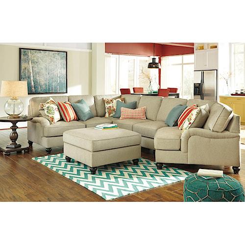 Benchcraft Kerridon Stationary Living Room Group