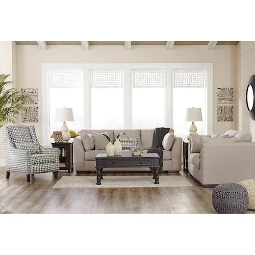 Ashley/Benchcraft Lainier Stationary Living Room Group