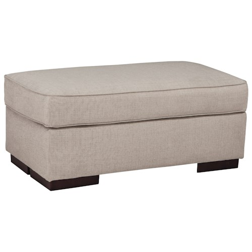 Benchcraft Lainier Contemporary Rectangular Ottoman