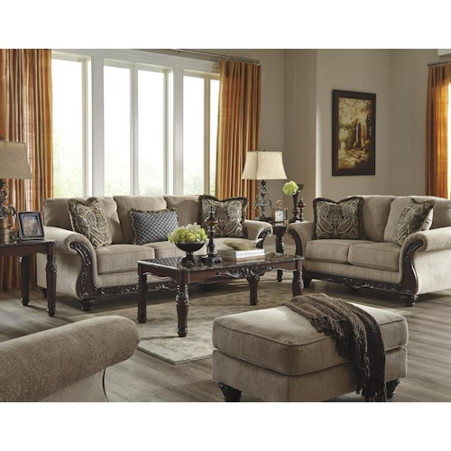 Ashley/Benchcraft Laytonsville Stationary Living Room Group