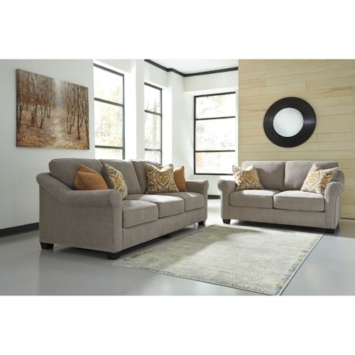 Ashley/Benchcraft Leola Stationary Living Room Group