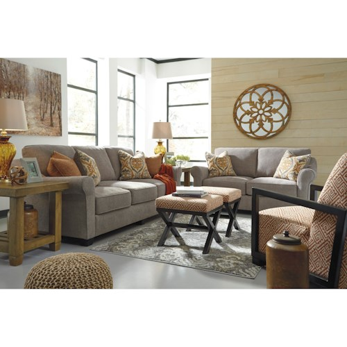 Ashley/Benchcraft Leola Stationary Living Room Group