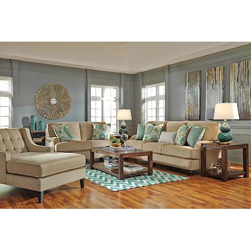 Ashley Lochian Stationary Living Room Group