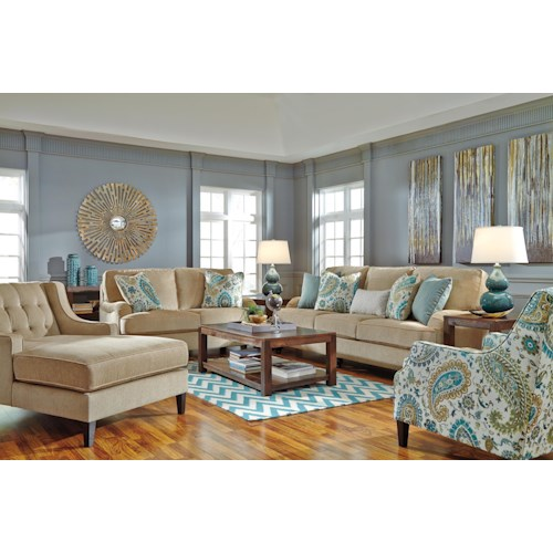 Ashley/Benchcraft Lochian Stationary Living Room Group