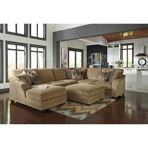 Benchcraft Lonsdale Stationary Living Room Group